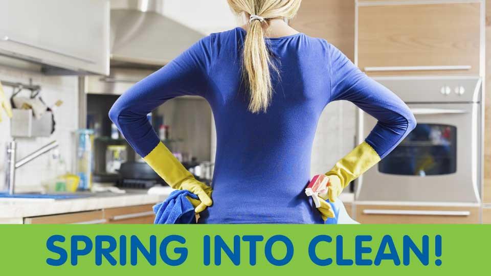 Spring into Clean specials